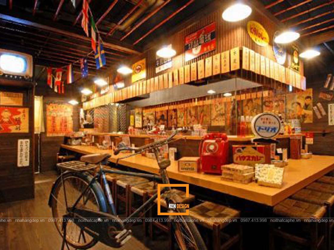thiet ke nha hang nhat ban dep nghe thuat sap dat trong khong gian 2 - Thiết kế nhà hàng Nhật Bản đẹp - Nghệ thuật sắp đặt trong không gian