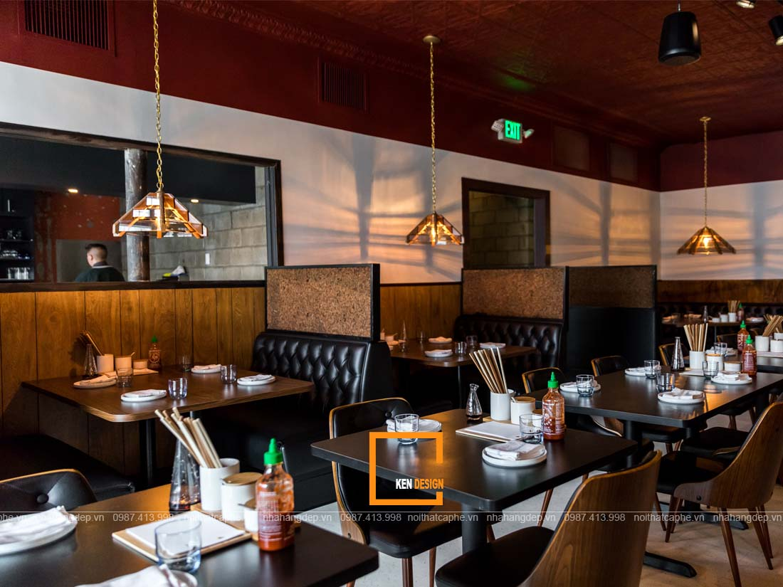 thiet ke nha hang tai binh duong 1 - Chia sẻ kinh nghiệm thiết kế nhà hàng tại Bình Dương