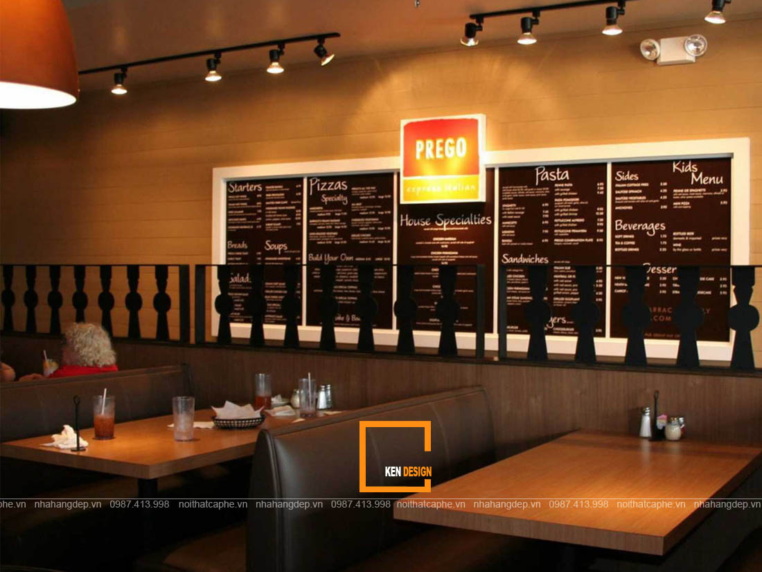 thiet ke nha hang tai binh duong 2 - Chia sẻ kinh nghiệm thiết kế nhà hàng tại Bình Dương