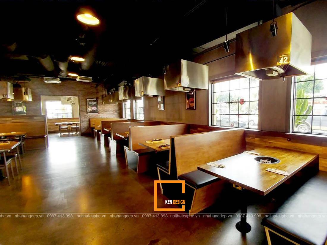 thiet ke nha hang tai binh duong 4 - Chia sẻ kinh nghiệm thiết kế nhà hàng tại Bình Dương