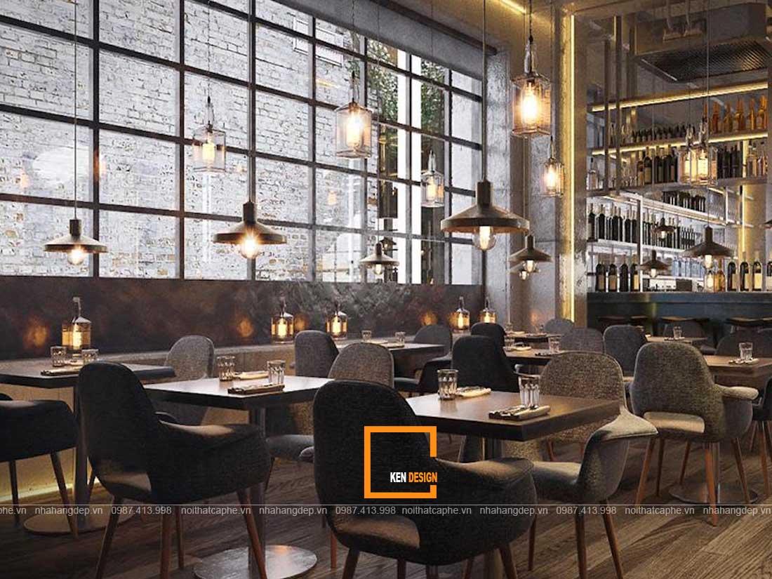 tuyet chieu chon do noi that chuan thiet ke nha hang phong cach industrial 3 - Tuyệt chiêu chọn đồ nội thất chuẩn thiết kế nhà hàng phong cách Industrial
