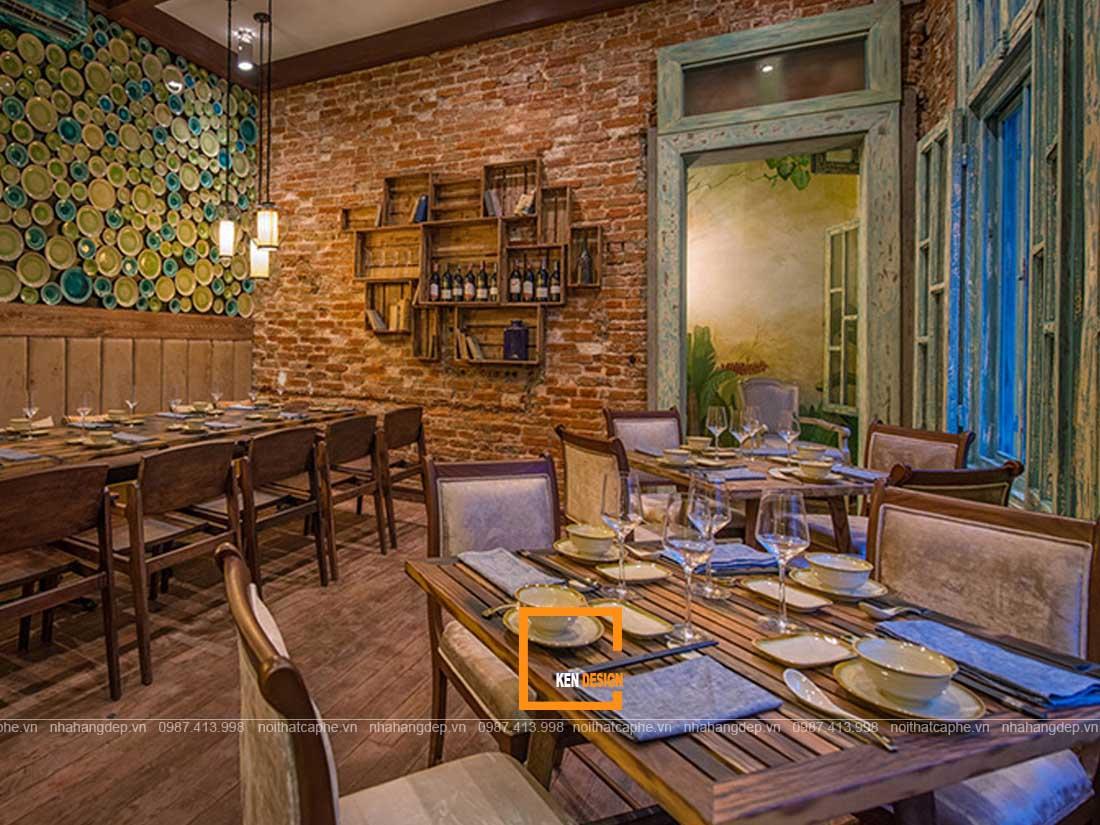 y tuong thiet ke nha hang 3 - Những ý tưởng thiết kế nhà hàng đảm bảo tính thẩm mỹ