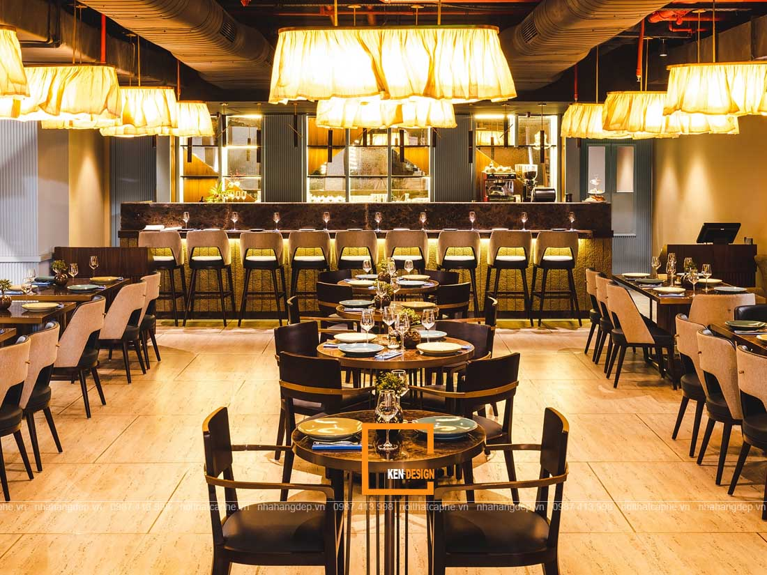 y tuong thiet ke nha hang 4 - Những ý tưởng thiết kế nhà hàng đảm bảo tính thẩm mỹ