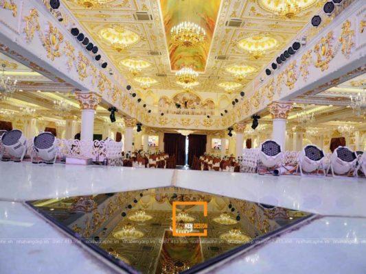 3 luu y chinh trong thiet ke nha hang tiec cuoi sang trong 1 533x400 - 3 lưu ý chính trong thiết kế nhà hàng tiệc cưới sang trọng