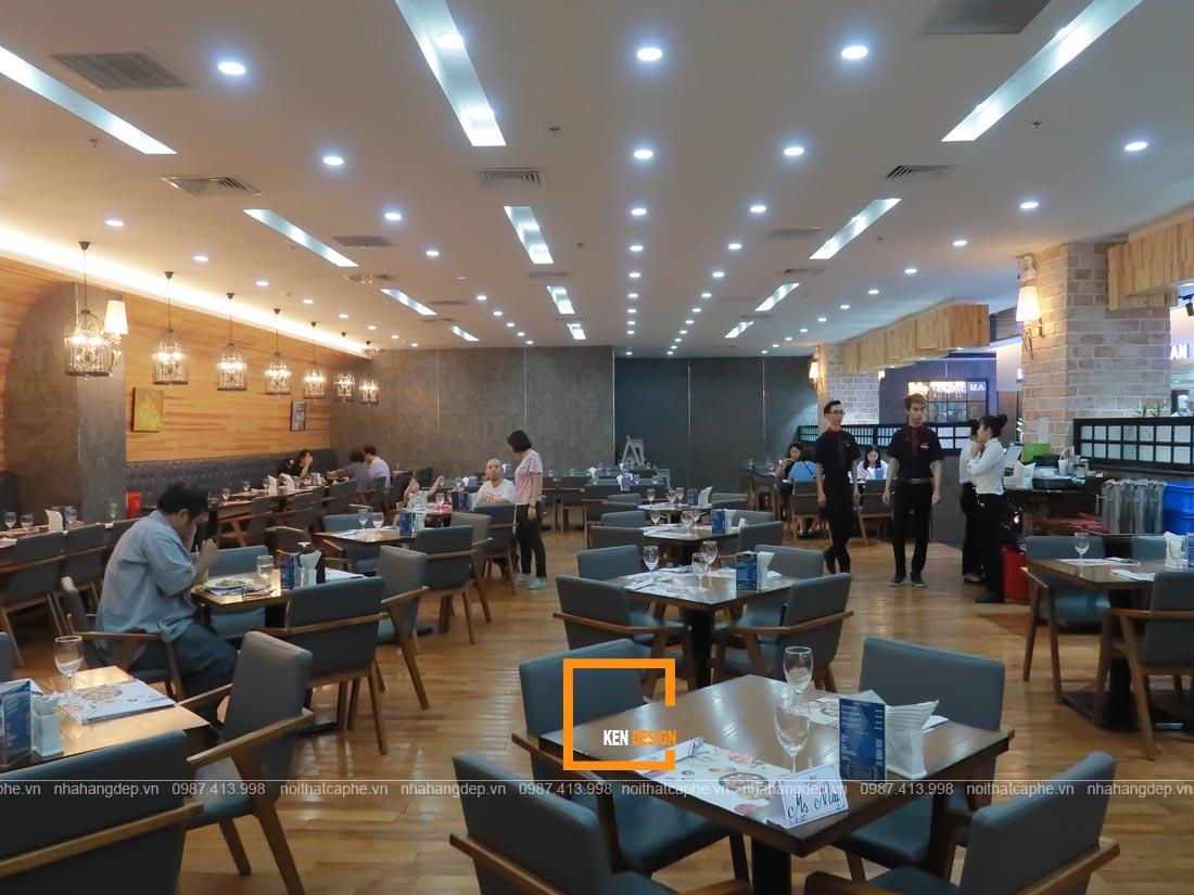 Tạo sự thu hút cho thiết kế chuỗi nhà hàng
