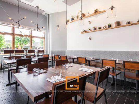 Mau thiet ke nha hang 3 533x400 - Những mẫu thiết kế nhà hàng cực hút khách hiện nay