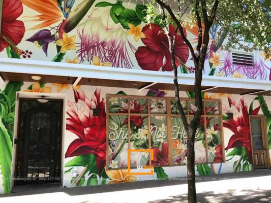 bat mi cach thiet ke nha hang an nhanh phong cach tropical 3 533x400 - Bật mí cách thiết kế nhà hàng ăn nhanh phong cách Tropical