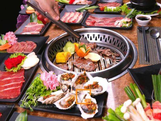 bi quyet thiet ke nha hang lau nuong buffet thu hut 2 533x400 - Bí quyết thiết kế nhà hàng lẩu nướng buffet thu hút