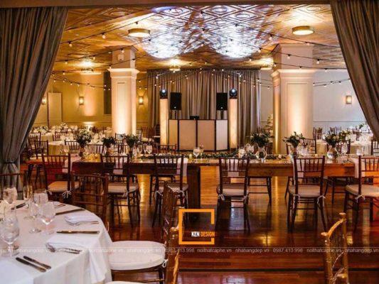 danh cap bi quyet thiet ke nha hang tiec cuoi tu chuyen gia 3 533x400 - Đánh cắp bí quyết thiết kế nhà hàng tiệc cưới từ chuyên gia