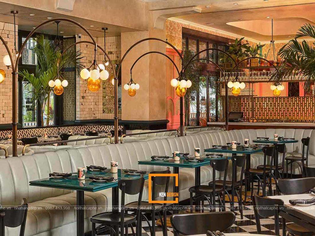 huong dan thiet ke nha hang phong cach retro 4 1067x800 - Hướng dẫn thiết kế nhà hàng phong cách Retro