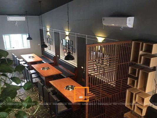 kinh nghiem thiet ke nha hang lau hoi dam bao cong nang tham my 3 533x400 - Kinh nghiệm thiết kế nhà hàng lẩu hơi đảm bảo công năng, thẩm mỹ