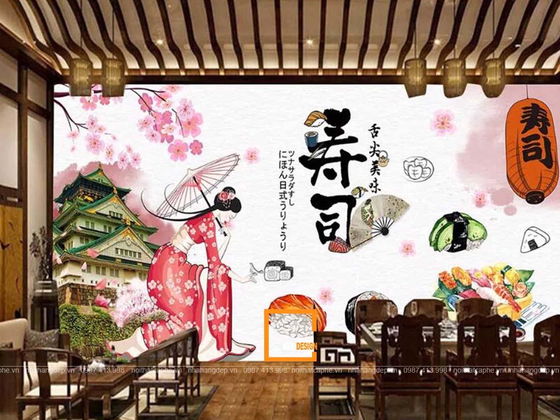 thiet ke chuoi nha hang nhat ban can chu y nhung gi 2 - Kinh nghiệm thiết kế nhà hàng truyền thống Nhật Bản