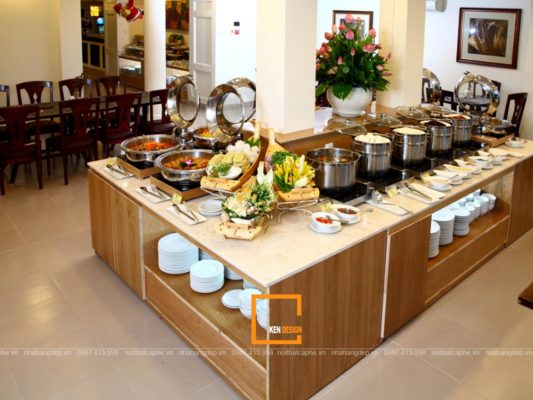 thiet ke nha hang buffet can luu y dieu gi 5 533x400 - Thiết kế nhà hàng buffet cần lưu ý điều gì?