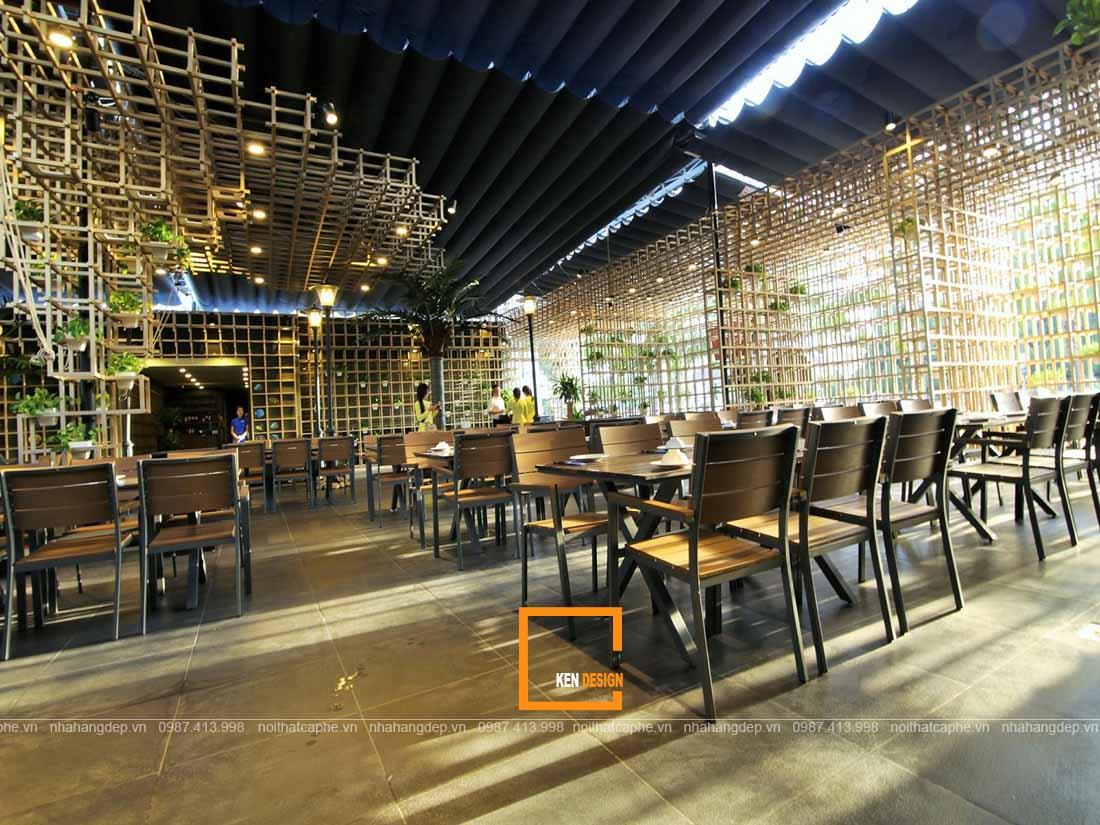 Thiết kế nhà hàng hải sản đảm bảo tính thẩm mỹ công năng