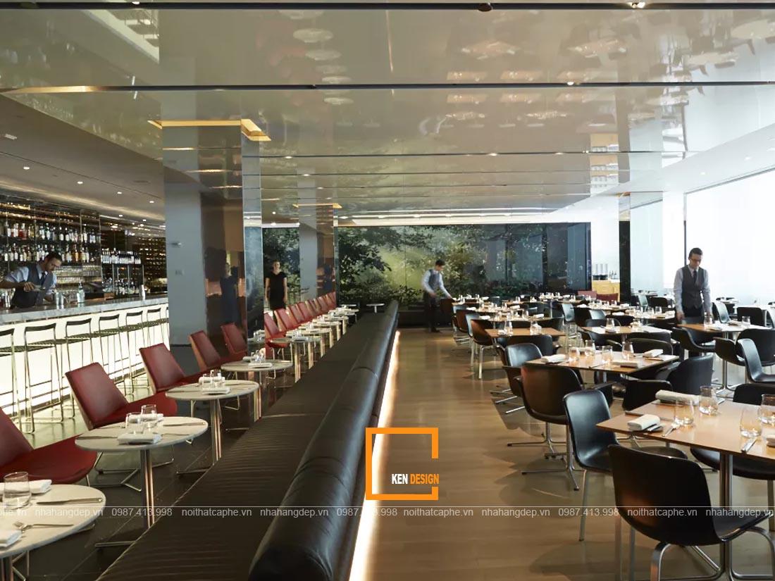 thiet ke nha hang hien dai 2 - Cách tốt nhất để thiết kế nhà hàng phong cách hiện đại