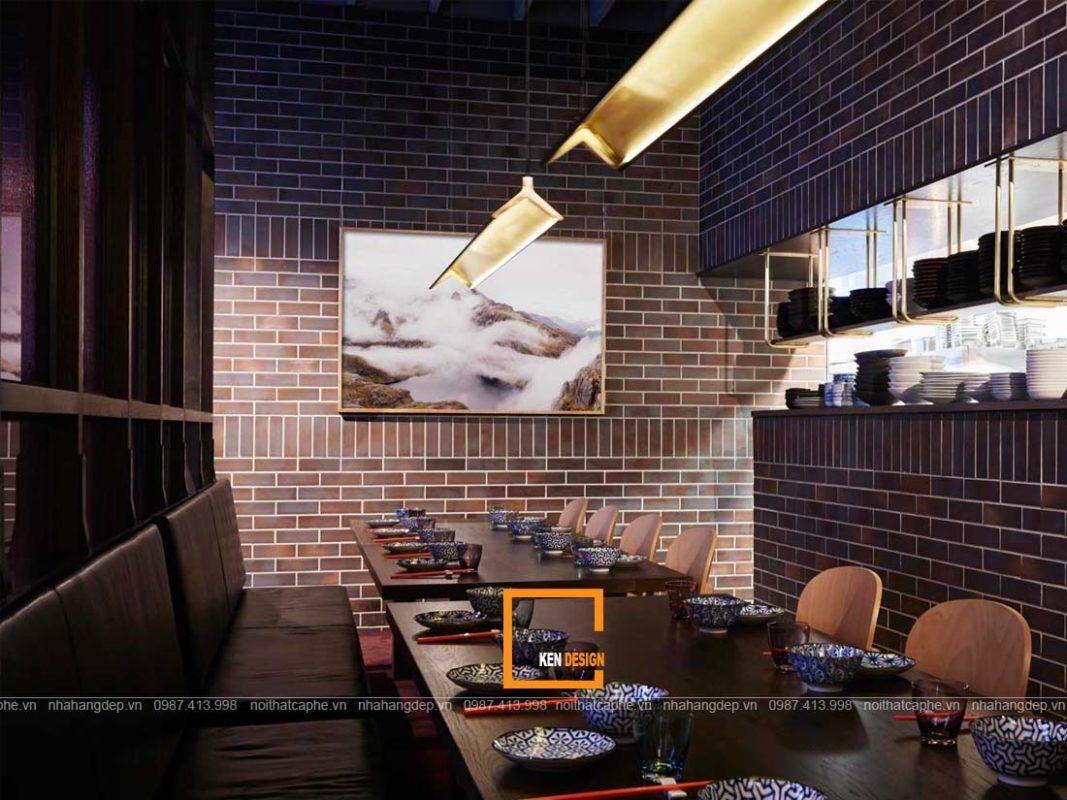 thiet ke nha hang hien dai 4 1067x800 - Cách tốt nhất để thiết kế nhà hàng phong cách hiện đại
