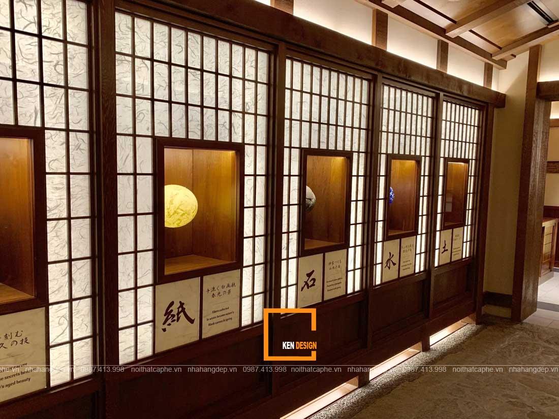 Trang trí thiết kế nhà hàng kiểu Nhật