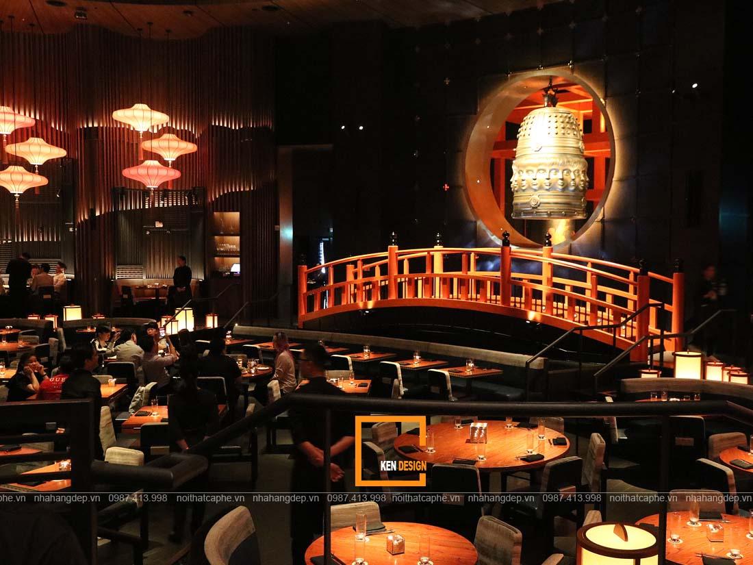 Thiết kế nhà hàng kiểu Nhật phong cách hiện đại