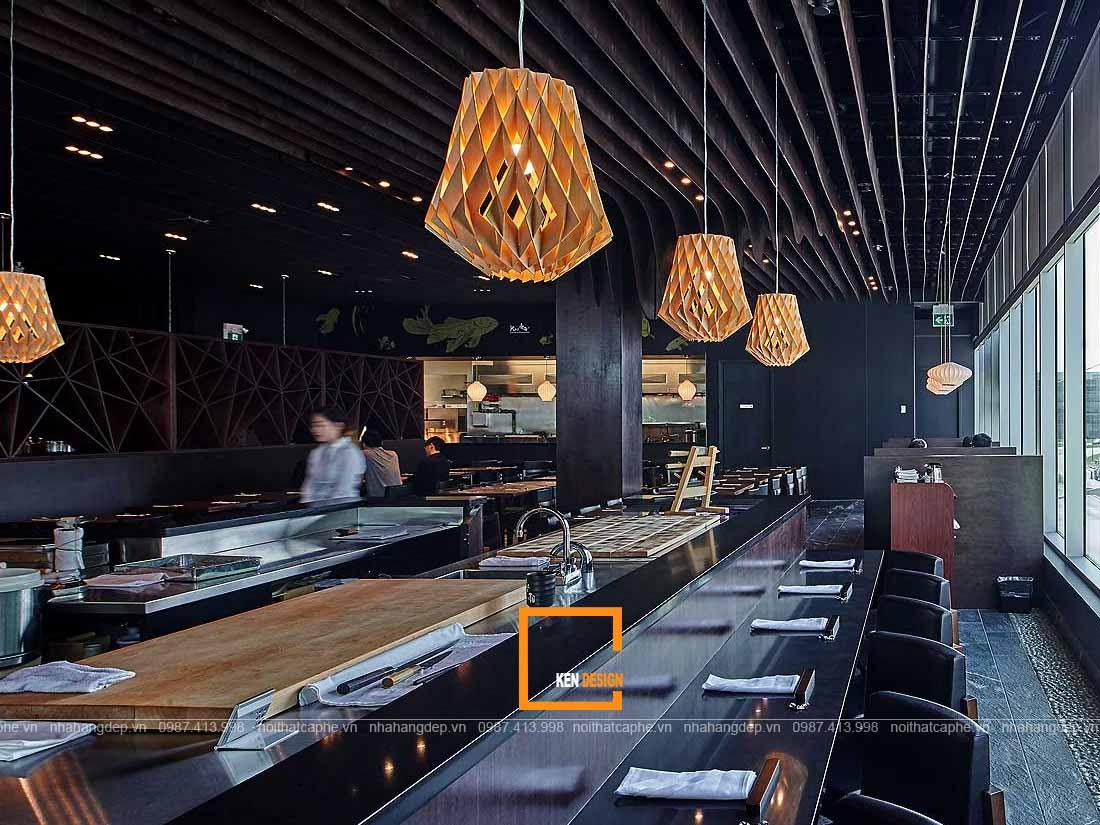 Thiết kế nhà hàng Nhật Bản phong cách Tepanyaki