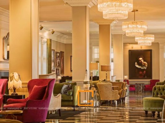 thiet ke nha hang phong cach co dien 4 1 533x400 - Cách thiết kế nhà hàng phong cách cổ điển
