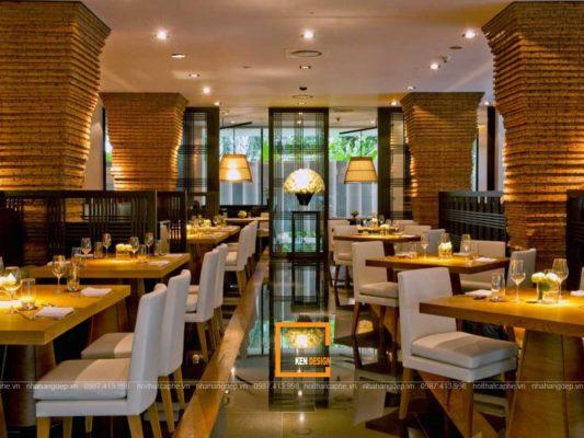 thiet ke nha hang phong cach co dien 4 2 533x400 - Thiết kế nhà hàng phong cách cổ điển sang trọng lịch sự
