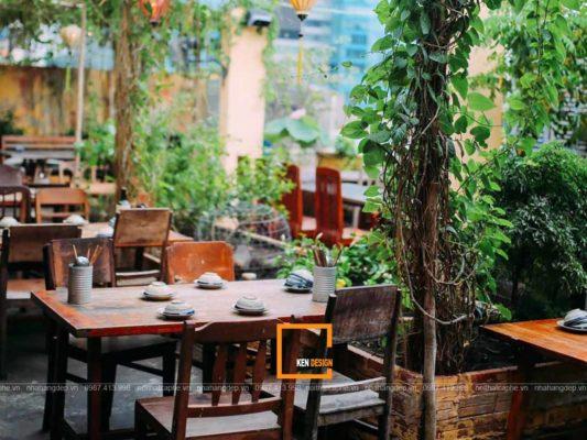 thiet ke nha hang san vuon 4 533x400 - Thiết kế nhà hàng sân vườn thu hút mọi khách hàng