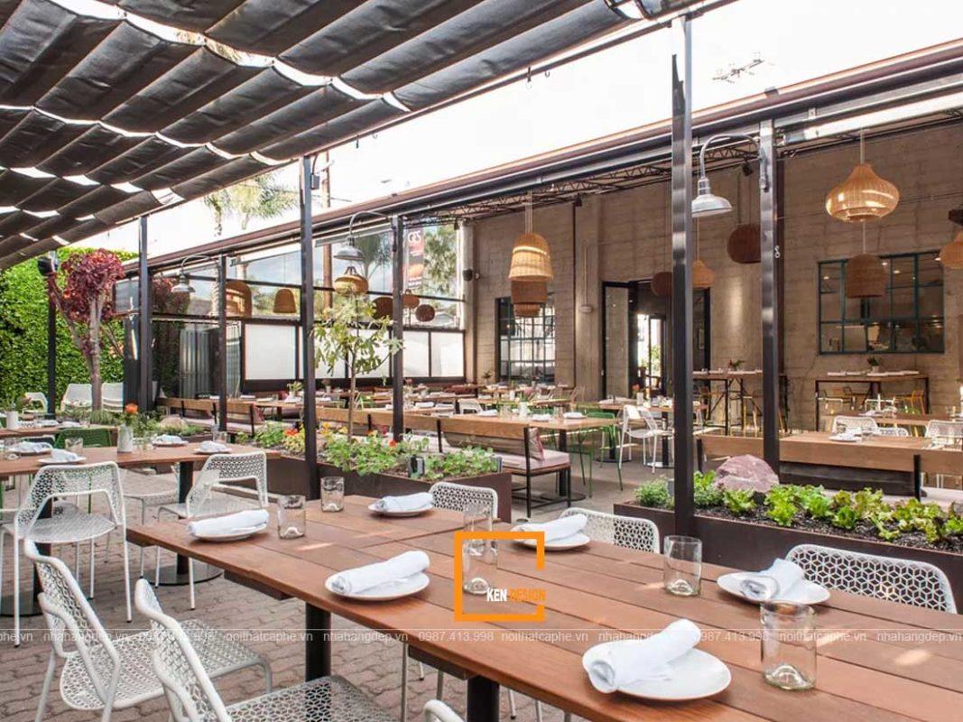 thiet ke nha hang tai hai noi 4 1067x800 - Thiết kế nhà hàng tại Hà Nội cần lưu ý những gì?