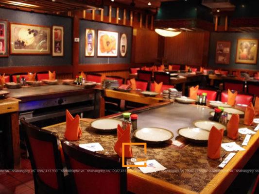 thiet ke nha hang tai ho chi minh 4 533x400 - Mẫu thiết kế nhà hàng tại Hồ Chí Minh cực hút khách