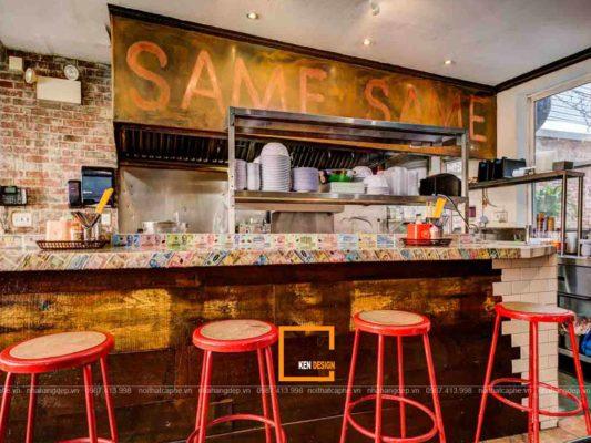 tuyet chieu thiet ke nha hang nho khong gian dep 3 533x400 - Tuyệt chiêu thiết kế nhà hàng nhỏ không gian đẹp