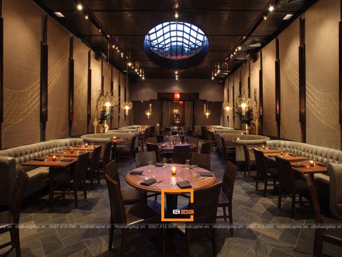 Xu hướng thiết kế nhà hàng Nhật Bản phong cách hiện đại