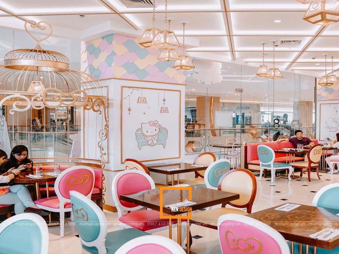 Xu hướng thiết kế nhà hàng ăn nhanh gây thu hút