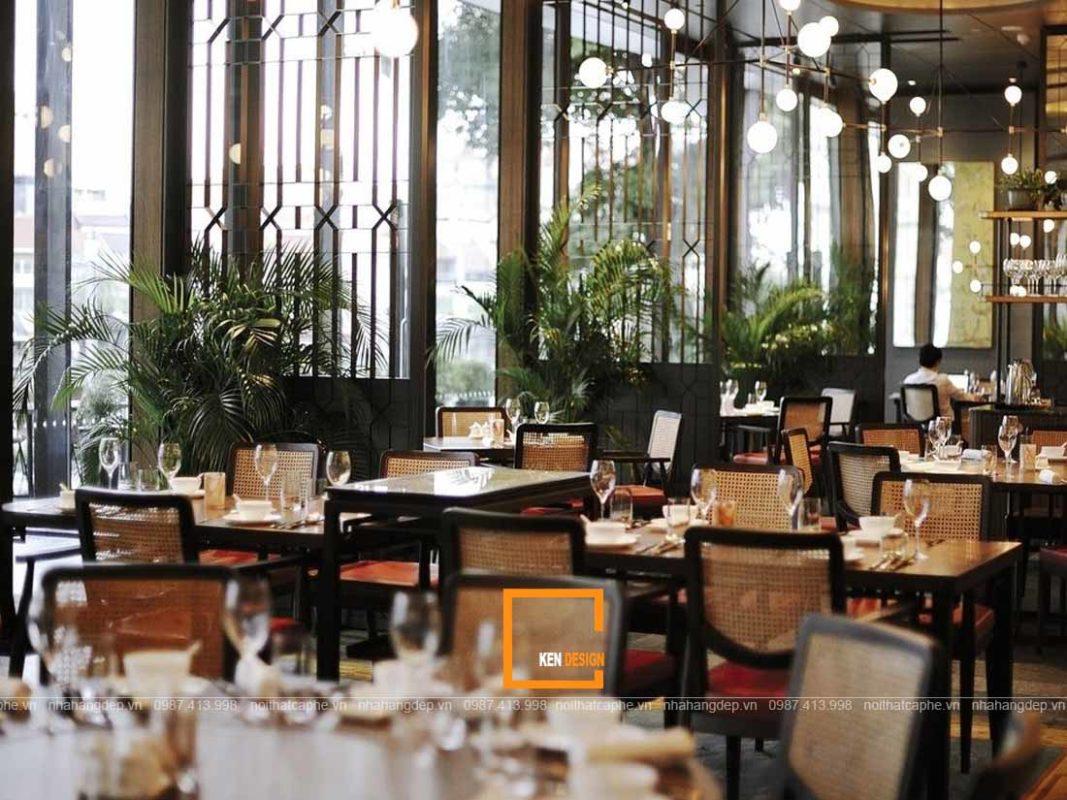 bi quyet thiet ke nha hang hut hon thuc khach 4 1067x800 - Bí quyết thiết kế nhà hàng quyến rũ thực khách