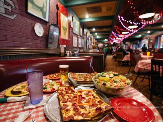 """bi quyet thiet ke nha hang pizza hut hon khach hang 1 533x400 - Cách thiết kế nhà hàng pizza """"hút hồn"""" khách hàng"""