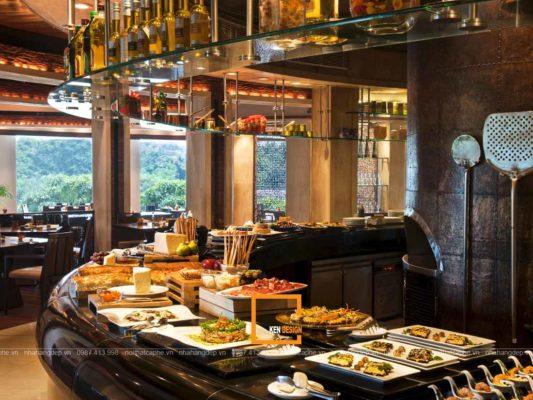 cac chu dau tu can chu y nhung gi khi thiet ke nha hang buffet 1 533x400 - Các chủ đầu tư cần chú ý những gì khi thiết kế nhà hàng buffet?