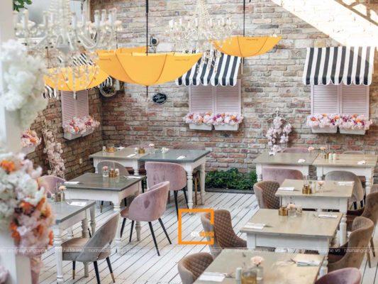 cach thiet ke nha hang dac trung phong cach vintage 1 533x400 - Cách thiết kế nhà hàng đặc trưng phong cách Vintage