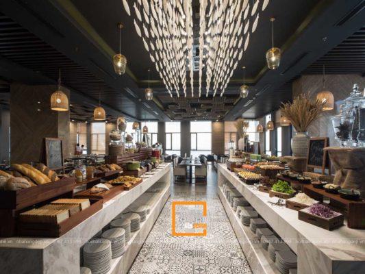 chi ban cach thiet ke nha hang buffet dat chuan 2 533x400 - Chỉ bạn cách thiết kế nhà hàng buffet đạt chuẩn