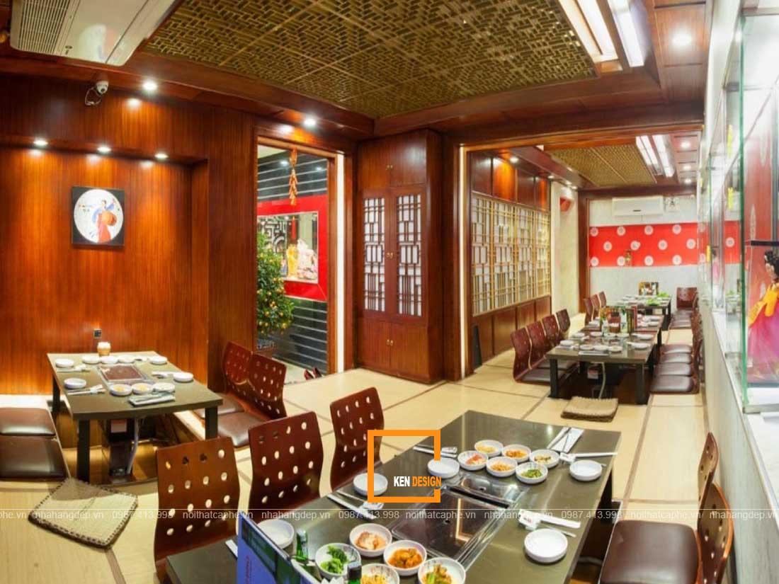 Thiết kế nhà hàng lẩu phong cách Hàn