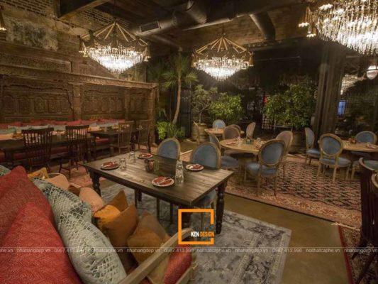 goi y trang tri thiet ke nha hang phong cach retro cuon hut 1 533x400 - Gợi ý trang trí thiết kế nhà hàng phong cách Retro cuốn hút