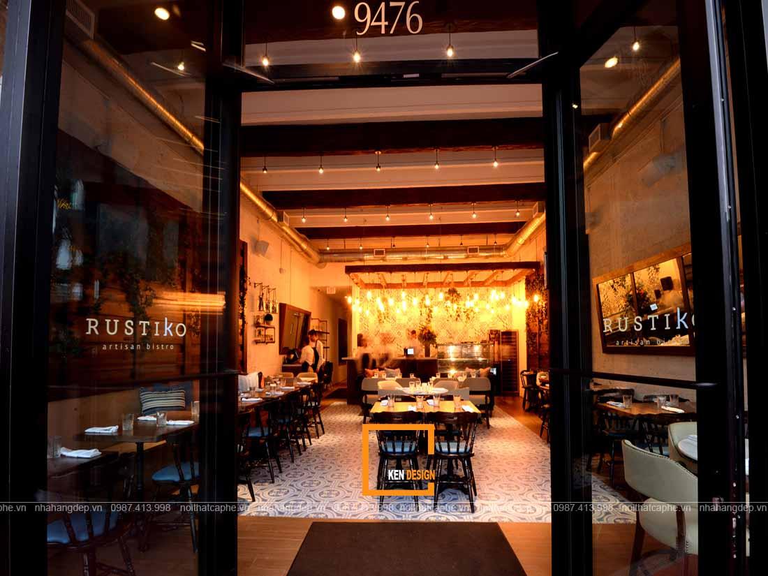 Tìm kiếm địa điểm thiết kế nhà hàng thu hút
