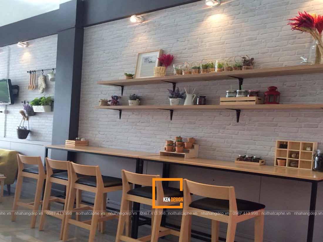 Trang trí thiết kế quán ăn đẹp