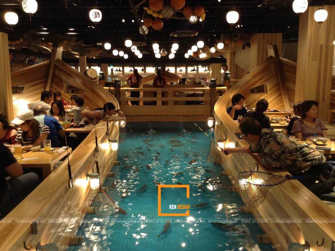 su dung anh sang thich hop trong thiet ke nha hang nhat ban 3 1067x800 - Sử dụng ánh sáng thích hợp trong thiết kế nhà hàng Nhật Bản