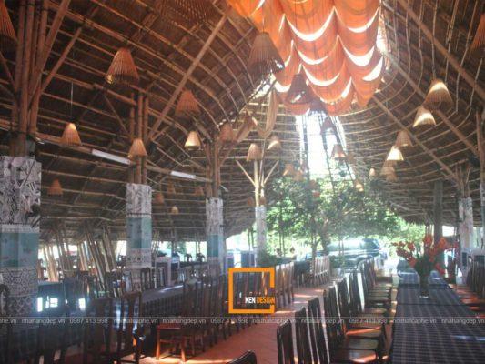 thi cong nha hang truyen thong 4 533x400 - Chia sẻ kinh nghiệm thi công nhà hàng truyền thống