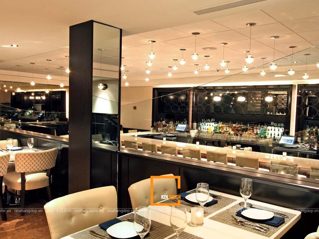 thi công nội thất nhà hàng