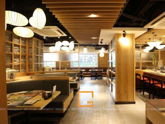 thiet ke nha hang cao cap 4 533x400 - Các bước cơ bản để thiết kế nhà hàng cao cấp