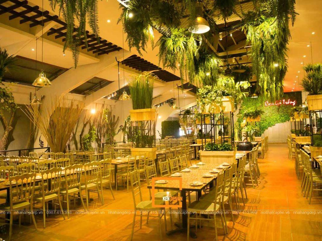 thiet ke nha hang khach den la me khach khong muon ve 1 1067x800 - Thiết kế nhà hàng khách đến là mê