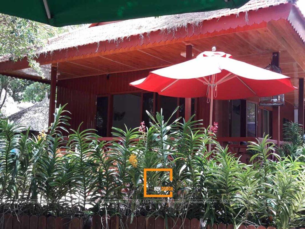 thiet ke nha hang san vuon 4 1 1067x800 - Cách tốt nhất để thiết kế nhà hàng sân vườn