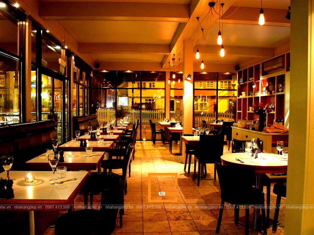 Thiết kế nhà hàng tại Nghệ An