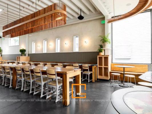 thiet ke nha hang tai binh duong 1 533x400 - Thiết kế nhà hàng Bình Dương Độc đáo