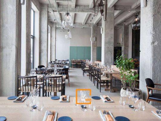 thiet ke noi that nha hang 4 1 533x400 - Tại sao nên thiết kế nội thất nhà hàng?