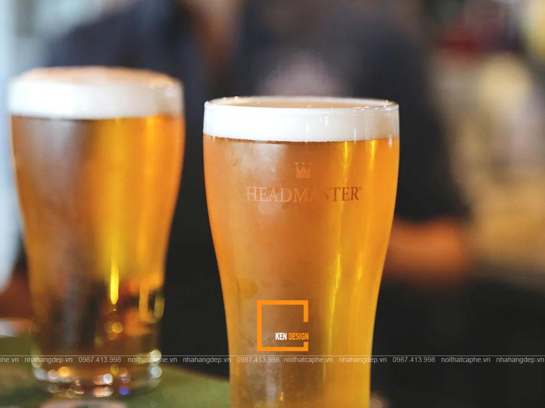 thiet ke quan beer 3 1067x800 - Cách thiết kế quán beer đơn giản nhất cực hút khách